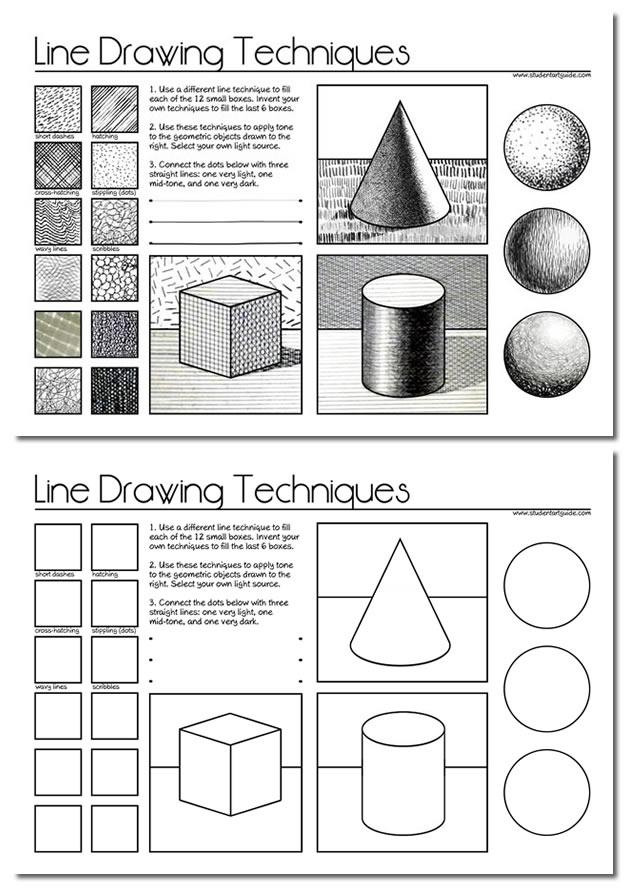 line-drawing-worksheet